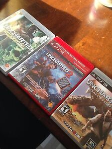 Uncharted games for ps3