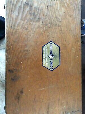 Scherr Tumico Interchangeable Anvil Micrometer Set 12-18 Barely Used