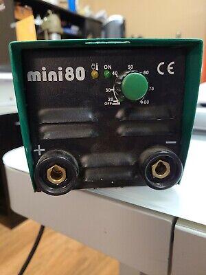 Arc One 80 Mini Electric Welding Machine Dc Stick Welder Made In Italy 110v