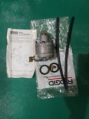 New Ridgid Complete Oil Pump Model Mj Part Number 62052