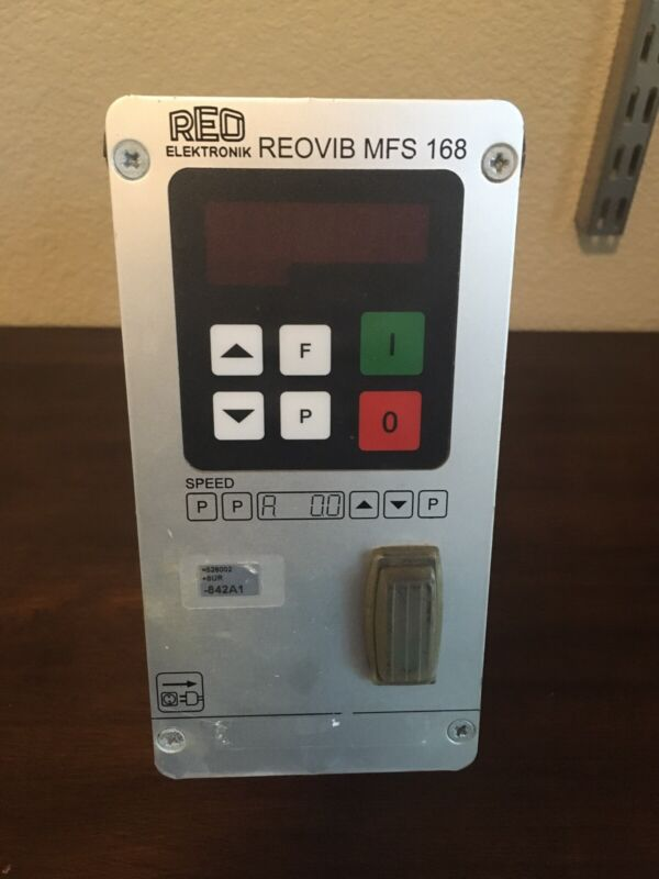 REO Elektronik REOVIB MFS 168 Vibratory Feeder Controller