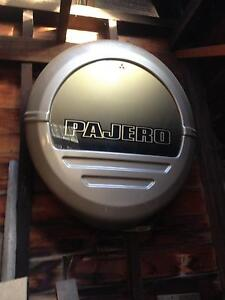 Mitsubishi Pajero spare wheel cover Rose Bay Clarence Area Preview