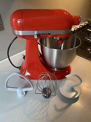 KitchenAid 3.3L mini stand mixer — red (hot sauce)