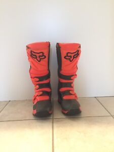 Men's Fox Comp 5 Adult Motocross Boots, Size 10
