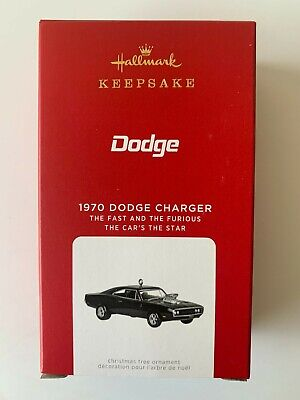 2021 Hallmark Keepsake Ornaments 1970 Dodge Charger (The Fast & The Furious)