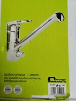 aquasu Spültischarmatur chrom *NEU* NP 125 € Nordrhein-Westfalen - Rommerskirchen Vorschau