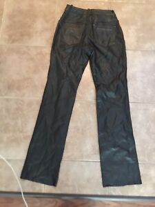 Ladies harley-Davidson leather pants size 2