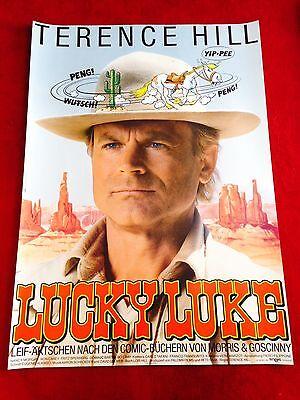 Lucky Luke Kinoplakat Poster A1, Terence Hill, Nancy Morgan