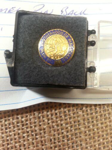 Scarce International Brotherhood of Magicians Enamel Pin in Very Nice Condition