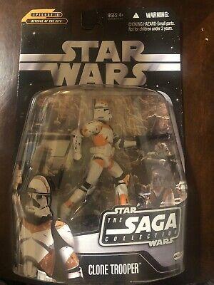 Star Wars Saga #26 Utapau Clone Trooper With Blue Darth Maul
