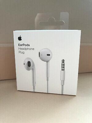Genuine Apple Earpods Headphone Plug MNHF2ZM/A  A1472 iPhone 5 5S 6 6S RRP £29