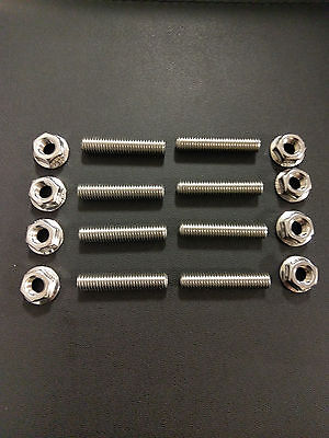 Yamaha XJR1300 Stainless Exhaust studs and Flange Nuts