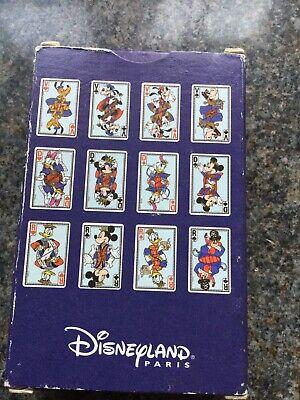 Disneyland Paris Playing Cards Exclusive Brand New