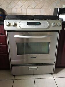 """KITCHEN AID 30"""" FREE STANDING AND SLIDE-INVGAS RANGE"""