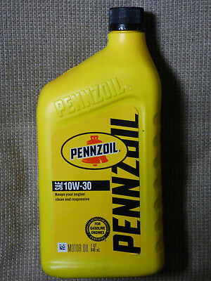 Best All-Season Additive Wear Protection Pennzoil 10W-30 Motor Oil - 4