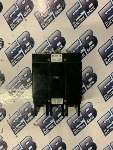 GHB3030 CH, WH, EATON (1) 30 Amp, 480 Volt, 3 Pole, Circuit Breaker- WARRANTY