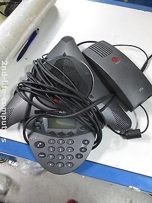 Polycom Wall Modul (POLYCOM VTX1000 Conference Phone 2201-07142-601 + 2201-07156-602 Wall Module PSU)