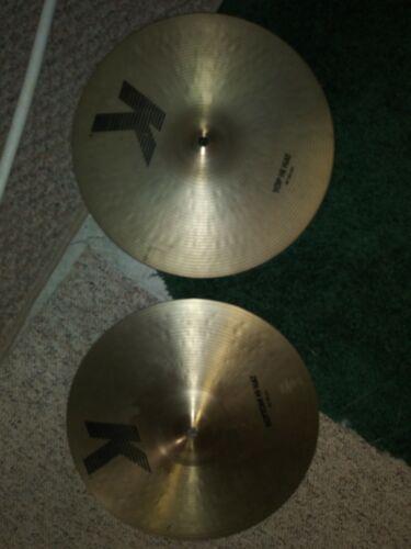 "Best sounding Cymbals in the world Zildjian 14"" K High Hats"
