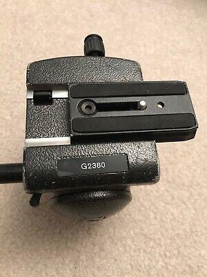 Gitzo G2380 Video Fluid Head With Plate !!!!