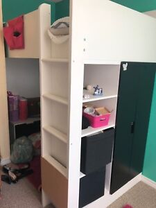 "Ikea loft bed with Wardrobe ""Stuva"""