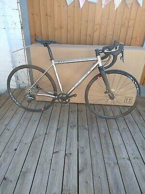 Planet X Titanium Tempest Gravel Bike. Carbon fork, Sram Rival.