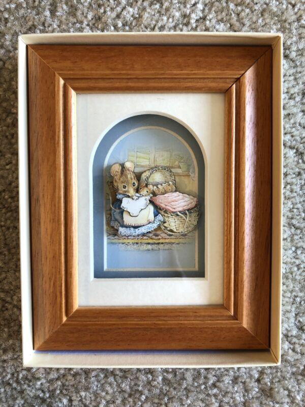 Classic Beatrix Potter 3D Living Picture De'coupage John Ellam
