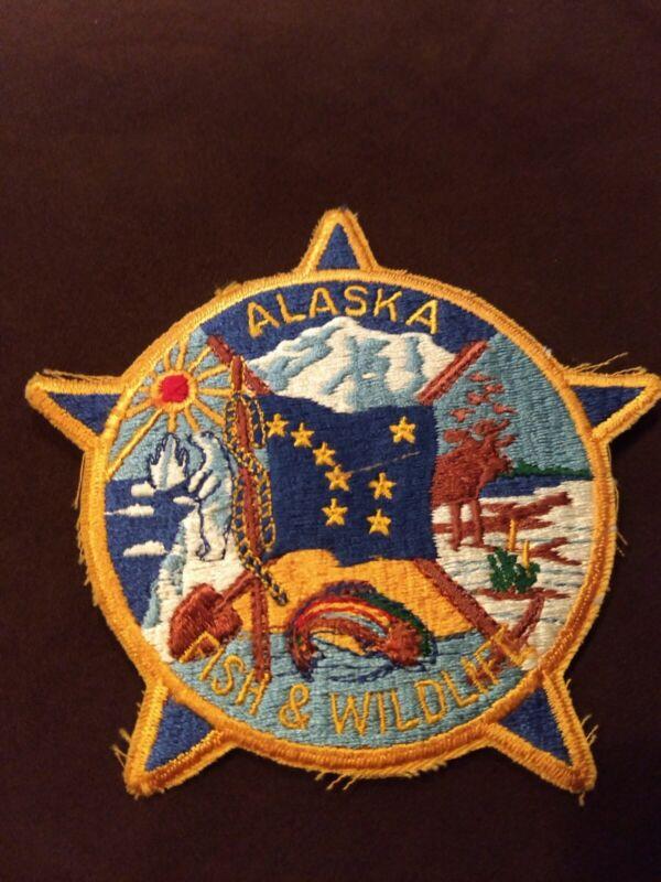 ALASKA  STATE TROOPERS POLICE SHOULDER PATCH - NEW