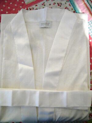 Hanro of Switzerland Ivory Robe Nightgown - Size XL