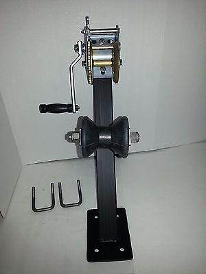 V Hull Jon Boat Jet Ski Trailer Winch Roller Combo Post Package