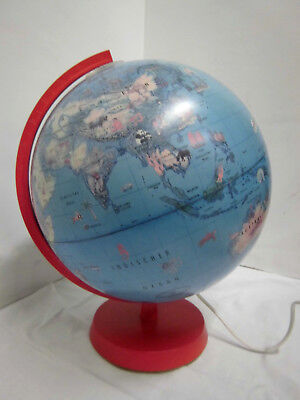 60er Globe OESTERGAARD Light Globe Globe Table Globe Columbus publisher 60s