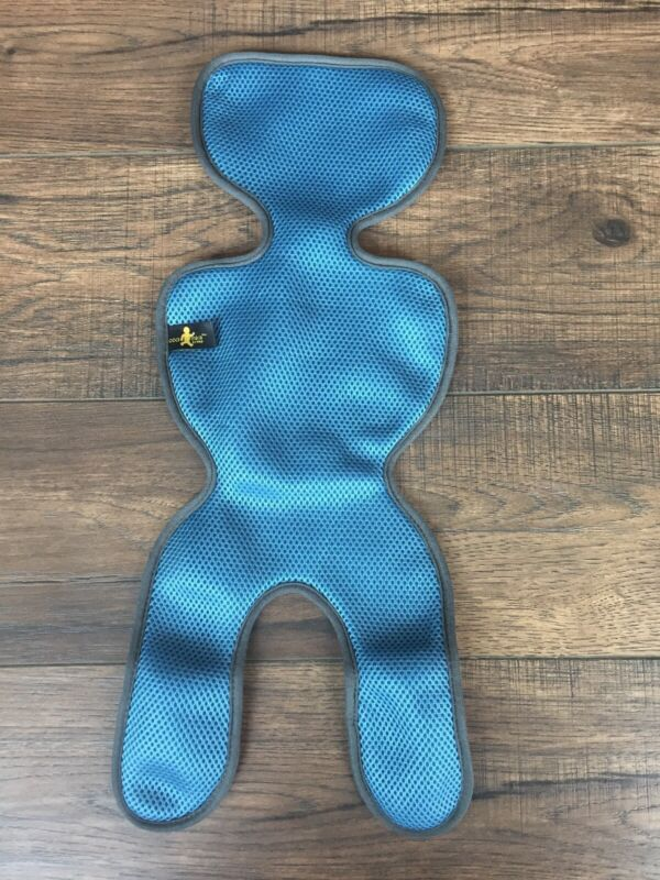 Comfy Breathable Car Seat Liner for infant car seats, Blue, baby seat liner