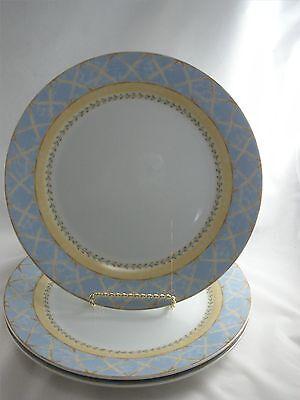 Heritage Mint 3 Enchanted Garden Dinner Plates