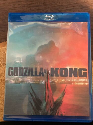 Godzilla VS Kong Custom Blu-ray Cover W/ Case and custom art Blu Ray disc