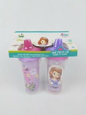 The First Years Disney Sofia the First Insulated Sippy Cup 9 Oz Baby Cup (Baby 2pk Sippy Cups)