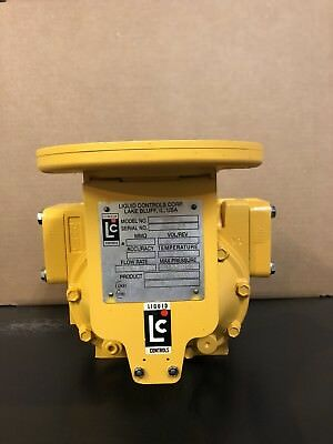 Liquid Controls M-7 Flow Meter Warranty Oil Gas Bio Diesel Lc Can Add Components