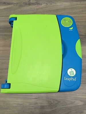 Leapfrog Original LeapPad Learning Game System/Console Green/Blue Console Only