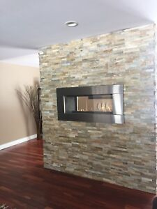 "Regency ""See Through"" Gas Fireplace"