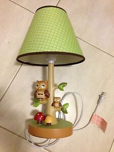 Fun owl lamp for kids room Panania Bankstown Area Preview