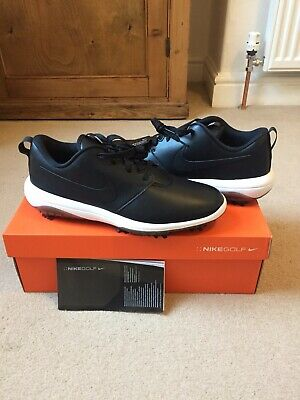 Nike Golf Roshe G Tour Golf Shoes Waterproof UK 9 Retail £95 BNWB