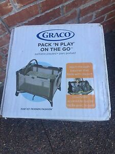 New in box Graco Pack & playpen