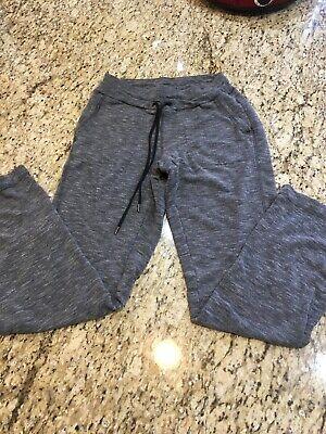 Athleta Straight Sweat Pant Charcoal Grey Yoga Workout Athletic Pants size XS