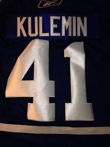 Nikolai Kulemin Toronto Maple Leafs jersey