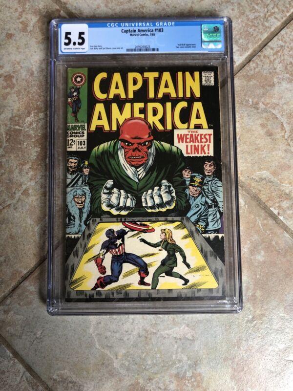 Captain America #103 (Jul 1968, Marvel)