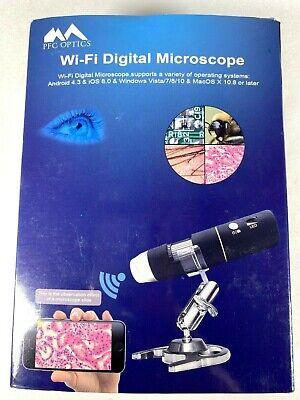 Pfc Optics Wi-fi Digital Microscope Hd 1920x1080p Handheld Portable Mini