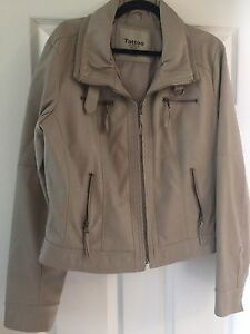 Faux leather XXL ladies jacket