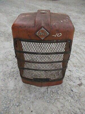 Allis Chalmers D14 Tractor Orig Factory Ac Front Nose Cone Grille Bonnet Winsrt