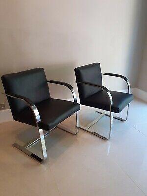 "Knoll Studio ""Brno Flat Bar"" Lounge Chair"