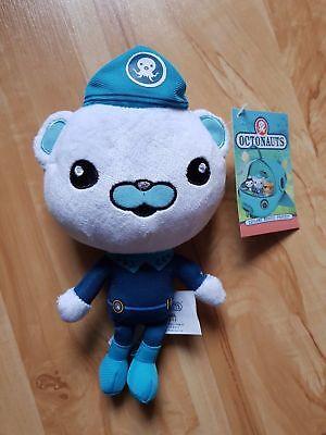 Octonauts Captain Barnacles Bear Plush Soft Stuffed Doll Toy 7