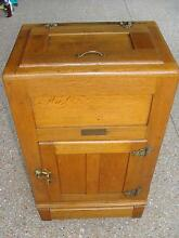 Antique/Vintage Oak Ice Chest - Kiandra Brand Stafford Brisbane North West Preview