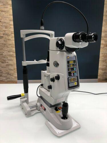 Nidek YC-1800 Ophthalmic Yag Laser w Integrated Slit Lamp & Warranty YC1800